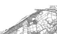 Old Map of Hamstead, 1896 - 1907