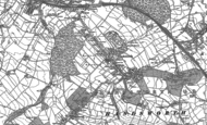 Old Map of Handsworth, 1890 - 1891