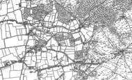 Old Map of Hangersley, 1895 - 1908