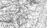 Old Map of Hanlith, 1907