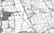 Old Map of Hardwick, 1885