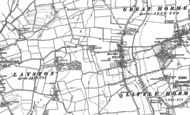 Old Map of Hare Street, 1896