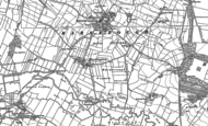 Old Map of Harlington, 1890 - 1891