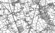 Old Map of Harlow Green, 1895