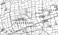Old Map of Harlthorpe, 1887 - 1889