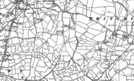 Old Map of Hartcliffe, 1883 - 1902