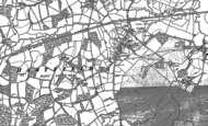 Old Map of Hartfield, 1908