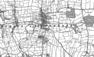 Old Map of Harthill, 1922 - 1929
