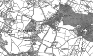 Old Map of Hartley Wintney, 1894 - 1909
