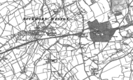 Old Map of Hartmoor, 1900 - 1901