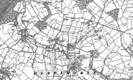 Old Map of Hartshorne, 1900