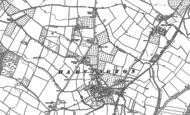 Old Map of Harvington, 1883 - 1884