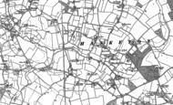 Old Map of Hasketon, 1881