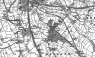 Old Map of Hasland, 1876 - 1879