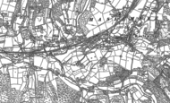Old Map of Haslemere, 1913