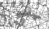 Old Map of Hassocks, 1896 - 1897