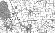 Old Map of Hasthorpe, 1887 - 1905