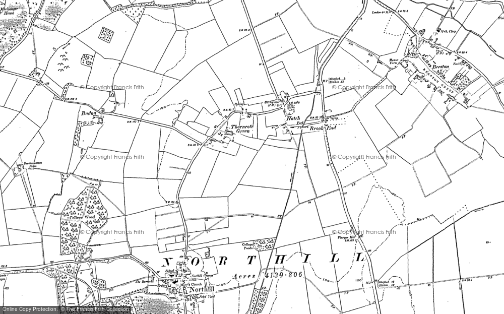 Hatch, 1882 - 1900