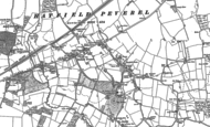 Old Map of Hatfield Peverel, 1895