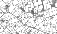Old Map of Hatton, 1886