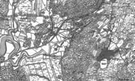 Old Map of Haverthwaite, 1911