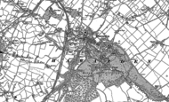 Old Map of Hawarden, 1898 - 1910