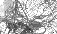 Old Map of Hawk Hill, 1923