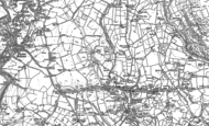 Old Map of Hawkshaw, 1890 - 1891