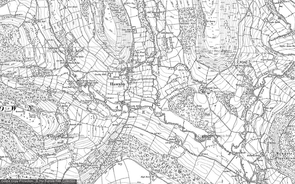Hawnby, 1891