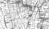 Old Map of Haxby, 1891
