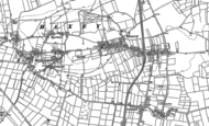 Old Map of Haxey, 1885 - 1905