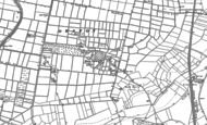 Old Map of Haxey Carr, 1885