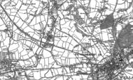 Old Map of Haybridge, 1884 - 1886