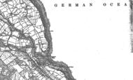 Old Map of Hayburn Wyke, 1910