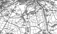 Old Map of Haydon, 1884