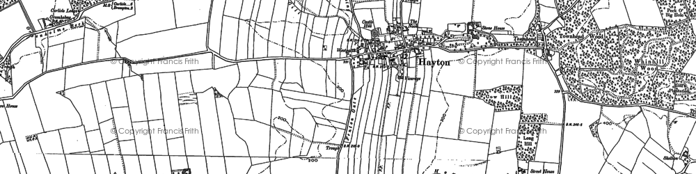 Old map of Westgarth in 1899