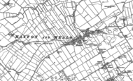 Old Map of Hayton, 1923