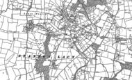 Old Map of Hayton's Bent, 1883