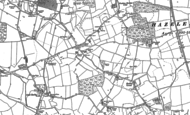 Old Map of Hazeleigh, 1895