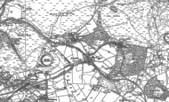 Old Map of Hazelslade, 1883