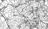 Old Map of Hazelwood, 1880
