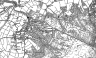 Old Map of Headley Down, 1909