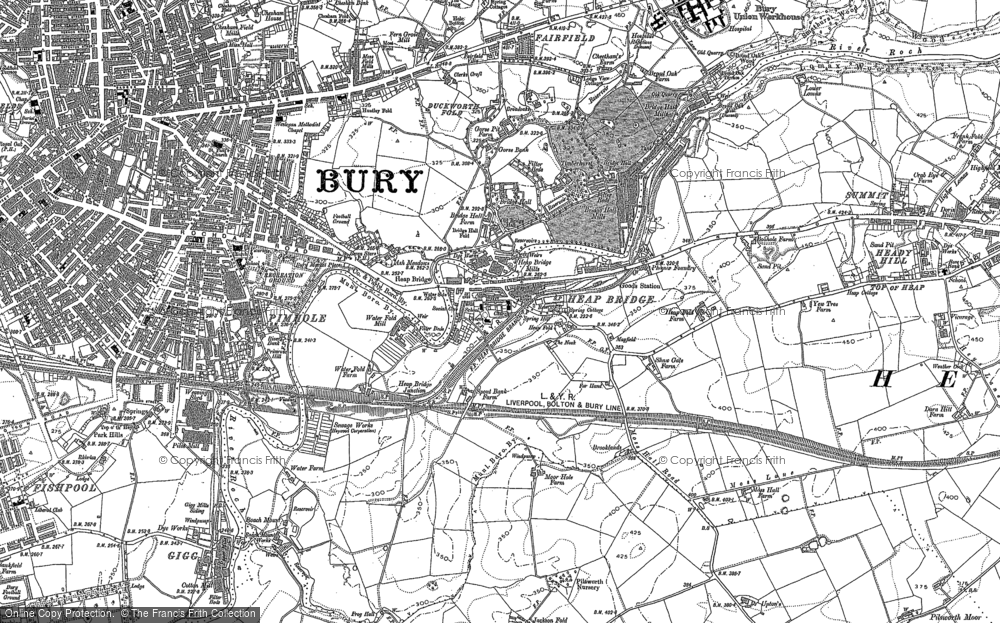 Old Maps of Jericho Francis Frith