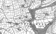Old Map of Heasley Mill, 1903