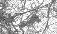 Old Map of Heath, 1890 - 1891