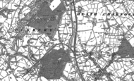 Old Map of Heath Charnock, 1892 - 1893