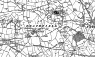Old Map of Heathfield, 1887