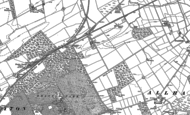 Old Map of Heathfield, 1899
