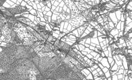 Old Map of Heathfield, 1914