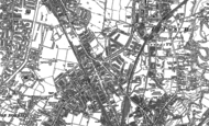 Old Map of Heaton Chapel, 1904 - 1905